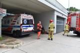 Wyciek tlenu z instalacji w Wojewódzkim Szpitalu Zespolonym w Lesznie. Konieczna jest pilna naprawa