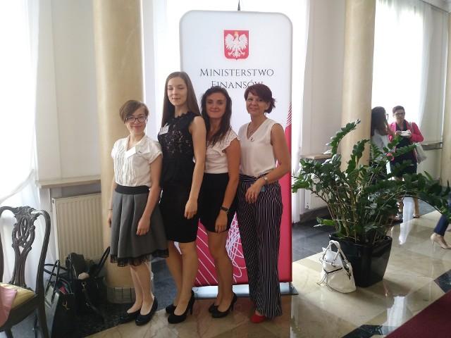Podczas gali w Ministerstwie Finansów w Warszawie