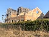 Cerkiew w Zaleszanach pnie się w górę. Trwa budowa świątyni upamiętniającej podlaskich męczenników (zdjęcia)