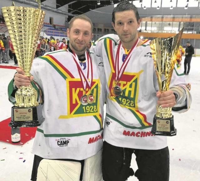 Kamil Skórski (z lewej) i Grzegorz Leśniak