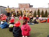Strażacy z Szubina i Nakła w przedszkolach. Maluchy już wiedzą na czym polega ich służba [zdjęcia]