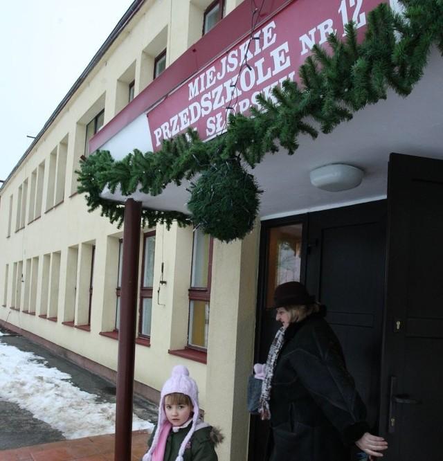 Budynek przedszkola nr 12 przy ul. Koszlińskiej.