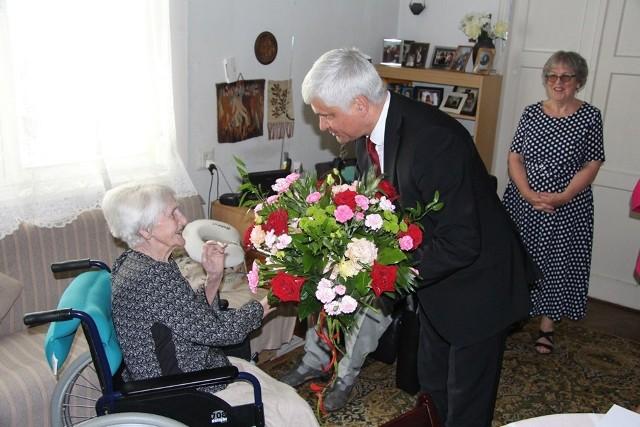 Solenizantka Anna Saydel świętowała swoje setne urodziny