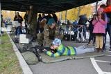 Piknik wojskowy w jednostce logistyków w Opolu z okazji 101. rocznicy odzyskania niepodległości