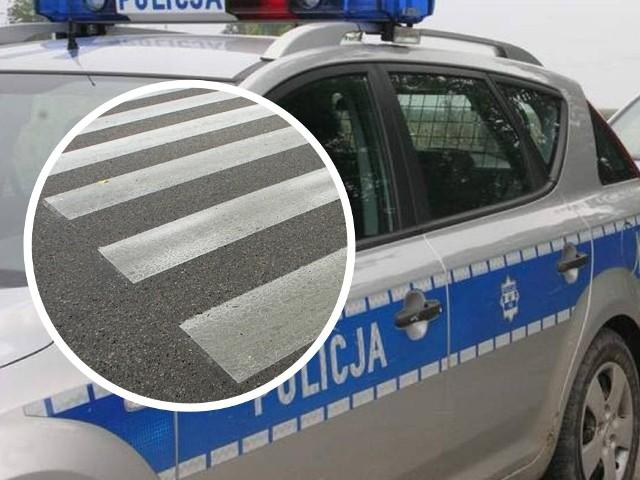 Do potrącenia 60-latki doszło w poniedziałkowy wieczór na przejściu dla pieszych przy ul. Portowej w Grudziądzu. W wyniku potrącenia kobieta z obrażeniami głowy trafiła do szpitala.