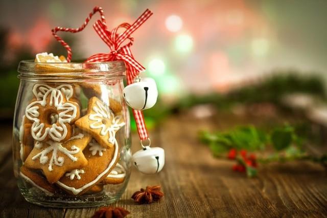 Pierniczki na Boże Narodzenie.