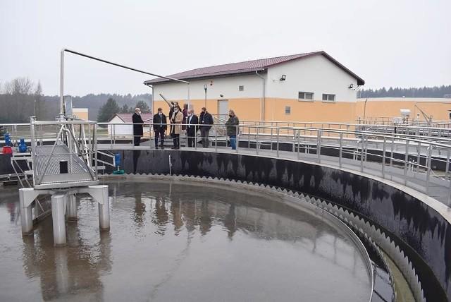 3 lutego oddano do użytku rozbudowaną oczyszczalnię ścieków w Sulęcinie.