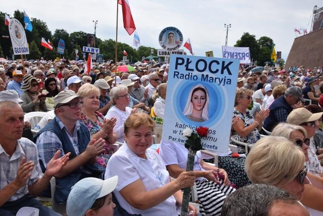 Kilkadziesiąt tysięcy wiernych bierze udział w Pielgrzymce Rodziny Radia Maryja na Jasnej GórzeZobacz kolejne zdjęcia. Przesuwaj zdjęcia w prawo - naciśnij strzałkę lub przycisk NASTĘPNE