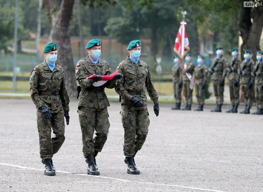Przysięga elewów w Szczecinie.