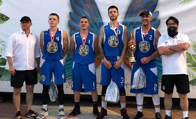 Zespół Sky Tattoo Basket Team wygrał turniej koszykówki 3x3 w Łodzi w kategorii do lat 23.