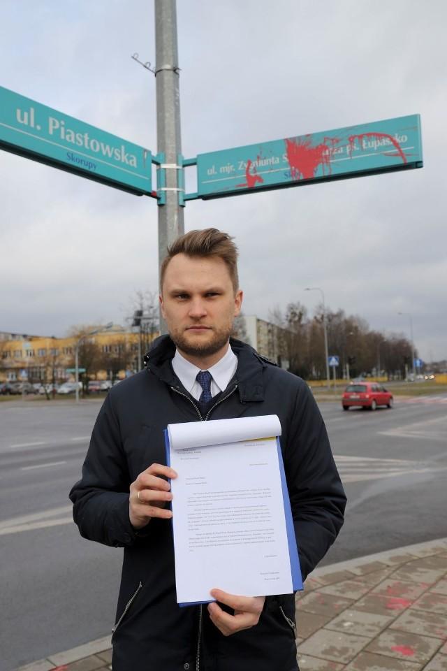 Poseł Krzysztof Truskolaski