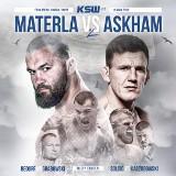 KSW 49. Wielki rewanż Materla vs Askham. W Ergo Arenie wystąpią też  Roberto Soldić i Karol Bedorf