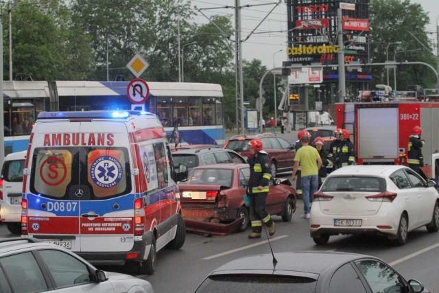 Wypadek na Legnickiej