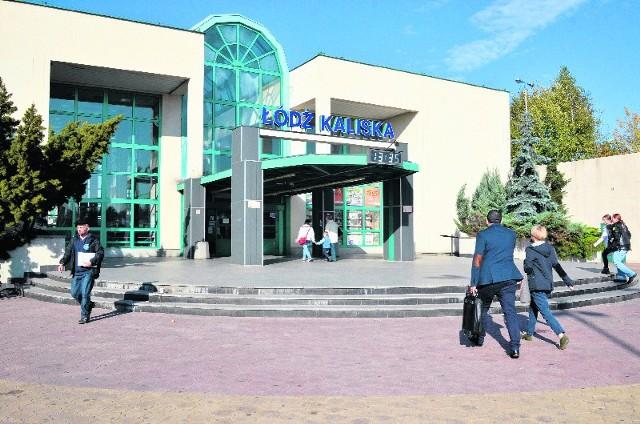 Kaliska, jako jedyny w Łodzi i regionie dworzec, została oznaczona podłogowymi piktogramami.