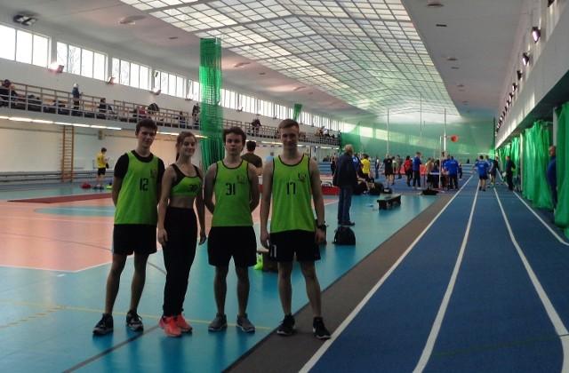 2.02.2020 zawodnicy Uczniowskiego Klubu Sportowego Clan startowali w halowych zawodach w Warszawie