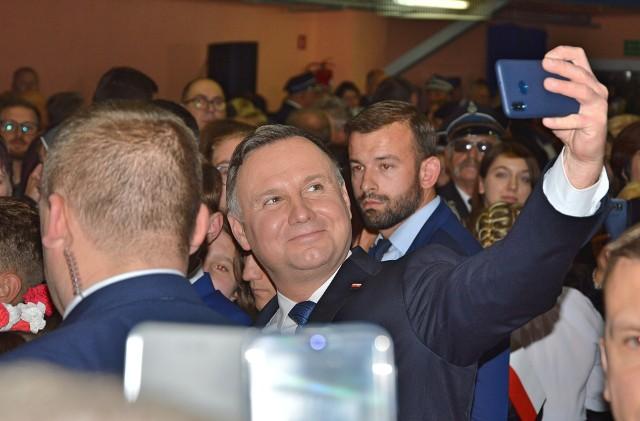 Prezydent Andrzej Duda w Proszowicach