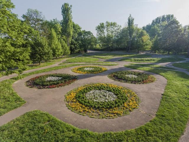 Park Wyspiańskiego w Krakowie