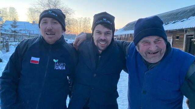 Gienek i Andrzej potrzebują nowej prasy. AgroUnia zainicjowała zbiórkę w sieci, by pomóc rolnikom