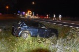 Śmiertelny wypadek na DK7 w Książu Wielkim. Nie żyje kierowca [AKTUALIZACJA]