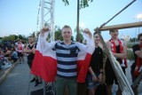Strefa Kibica Libero Katowice: Fani dopingowali Biało-Czerwonych przed telebimem ZDJĘCIA