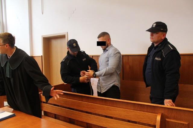 Oskarżony Wojciech L. ps. Wojtas
