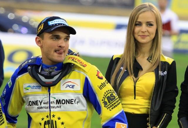 Bartosz Zmarzlik mimo 20 lat ma już na koncie w turnieju Grand Prix w Gorzowie.