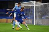 Premier League. Kabaret w meczu Chelsea - Manchester City. Timo Werner zaatakowany przez... chorągiewkę