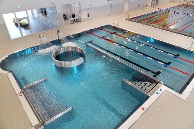 Basen Aqua Fordon jest jednym z najbardziej nowoczesnych obiektów tego typu w Bydgoszczy.