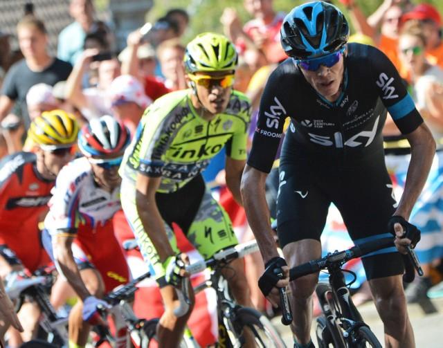 Alberto Contador znów zmierzy się z Chrisem Froomem
