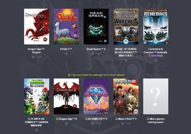 Humble Origin Bundle 2Humble Bundle: Dragon Age, Mass Effect i Dead Space