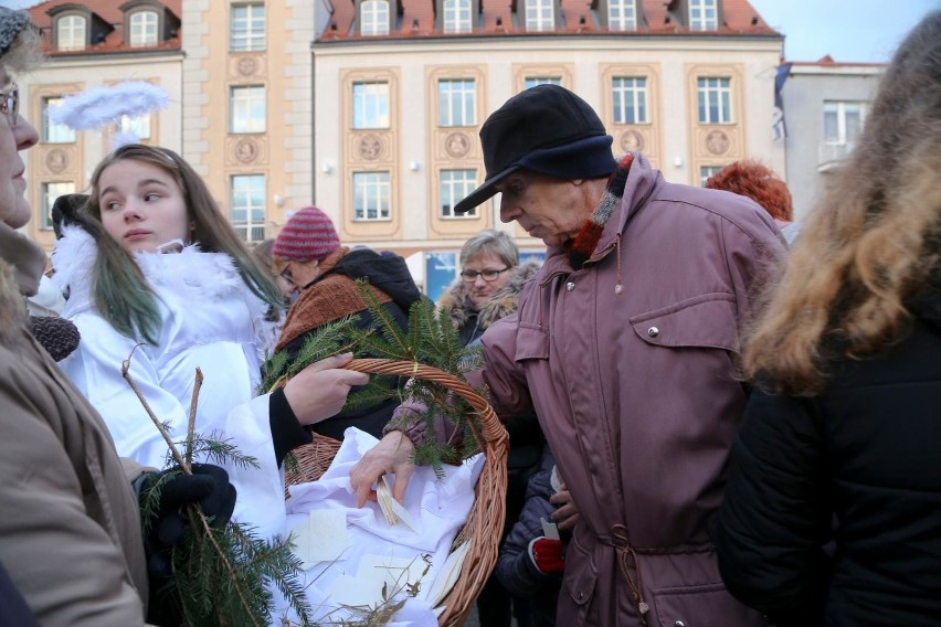 Jolanta Kalinowska (z prawej) całkowicie spontanicznie...