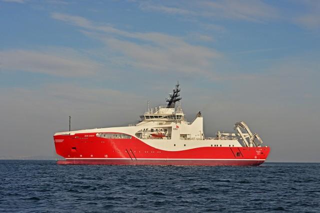 Superstatek z Remontowej Shipbuilding na próbach