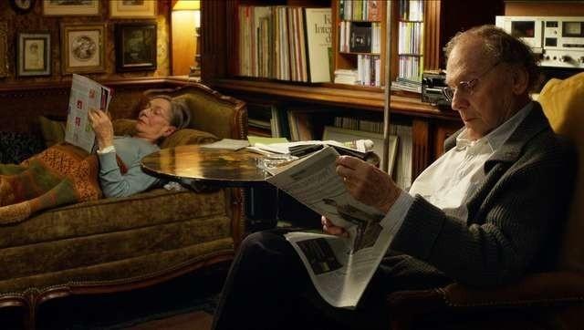 """Kadr z filmu Michaela Hanekego """"Miłość"""", który podejmuje między innymi tematykę starości"""