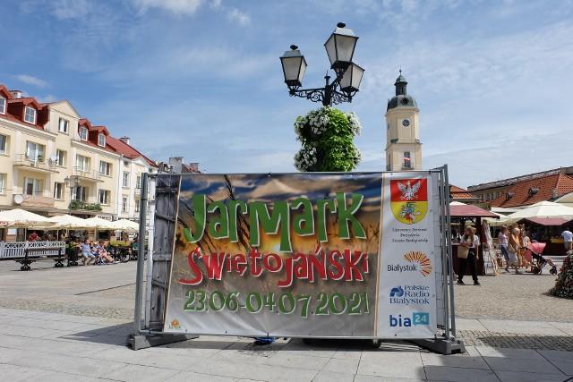 Jarmark Świętojański przy białostockim ratuszu
