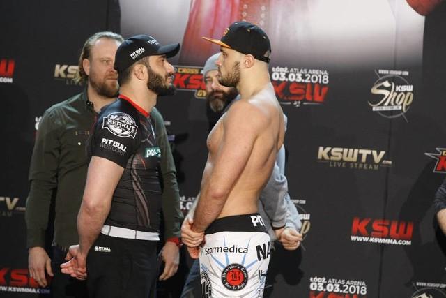 KSW 42: Khalidov vs. Narkun. Zdjęcia z oficjalnego ważenia.