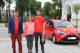 Loteria pitowa w Wasilkowie. Ireneusz Jaworski właśnie odebrał swój nowy samochód (zdjęcia)