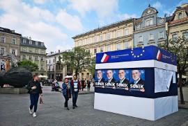 Kraków Znów Zalany Plakatami Wyborczymi Nieraz Nielegalnie