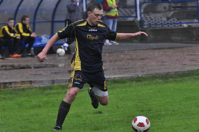 Grzegorz Reisig zdobył jedną z bramek dla zespołu z Chrząstowic.