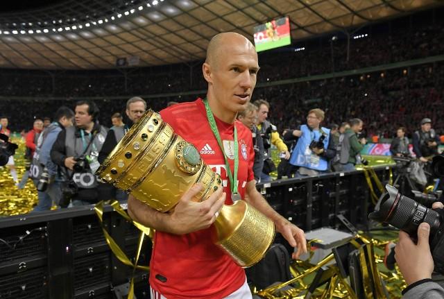 Arjen Robben może poszczycić się mistrzostwem czterech różnych lig, zdobyciem pucharu Ligi Mistrzów i wielu innych wyróżnień.