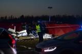 Tragedia w Rudnikach. Rozbił się samolot. Nie żyje instruktor i adept [ZDJĘCIA]