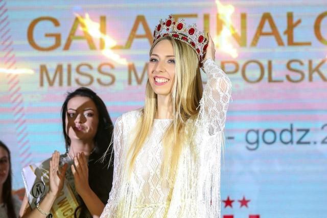 Sylwia Rojek jako Miss Małopolski 2019