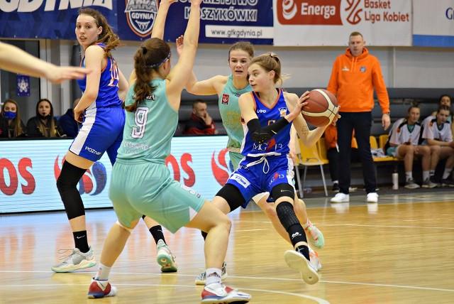 Alicja Rogozińska poprowadziła poznańskie akademiczki do drugiej wygranej na MP koszykarek do lat 19