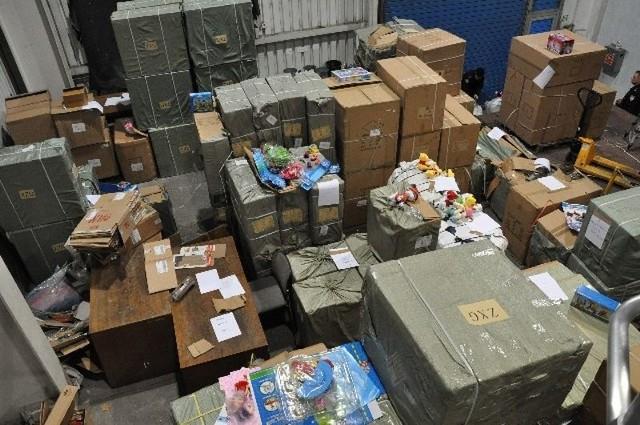 Wartość podrabianych zabawek oszacowano na niemal 2 mln zł.