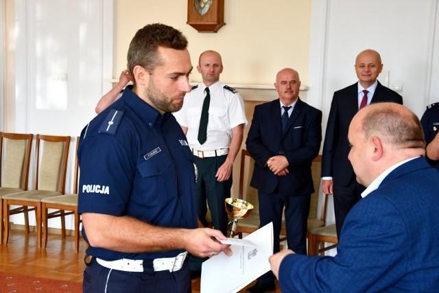 Policjant Ruchu Drogowego 2019: XXXII finał konkursu wygrał młodszy aspirant Mirosław Żulewski z KMP w Białymstoku