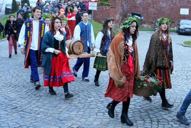 Święto młodego wina w Sandomierzu