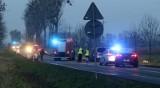 Czołowe zderzenie na drodze Wrocław – Jelenia Góra. Są ranni