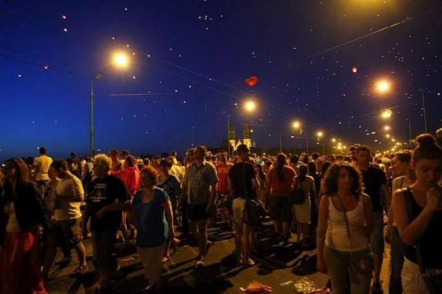 Tłumy poznaniaków bawiły się w Noc Kupały.