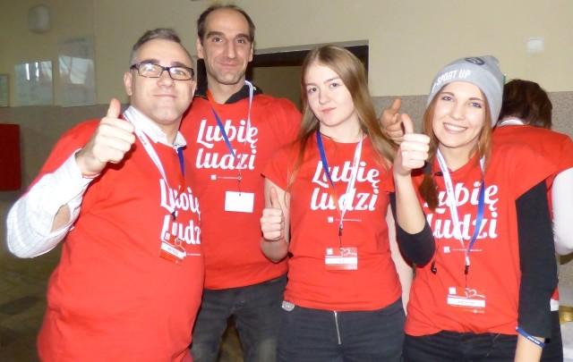 Wolontariusze Szlachetnej Paczki 2017 - to oni nakręcali buski Festiwal Dobra.