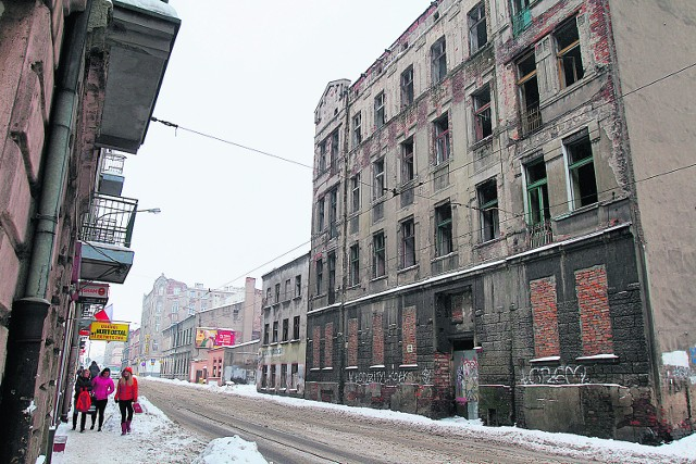 W tym roku ma być wyburzona m.in. opuszczona kamienica przy ul. Zielonej 50.