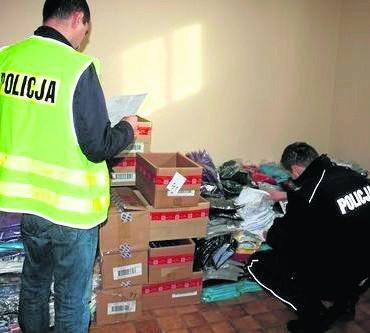 Zabezpieczono 7000 prezerwatyw, ponad 3000 sztuk odzieży